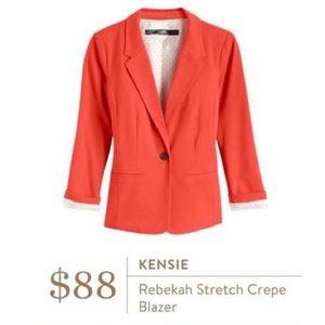 Kensie Coral Blazer